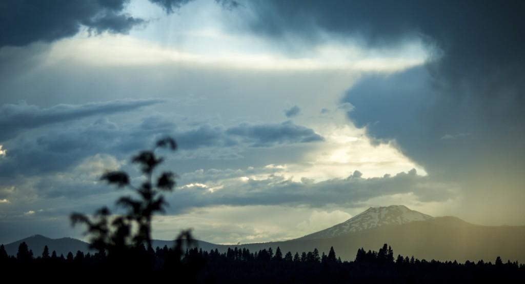 Mt. Bachelor at sunset, Bend, Oregon. By Craig Zagurski.